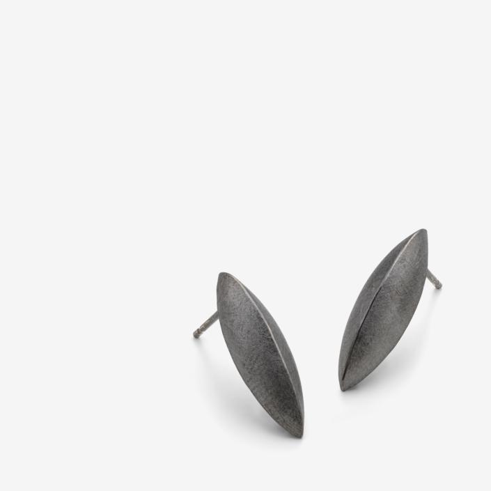 Skath studs (rhodium) | £125 per pair